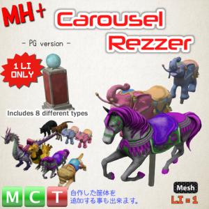 MH+ Carousel Rezzer (PG) v1.0 is OUT!