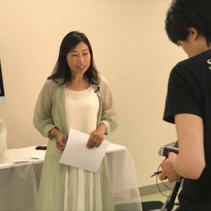 埼玉で撮影でした!スピリチュアルボイストレーニングの動画