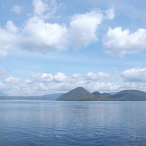 洞爺湖中島へ 2008年10月