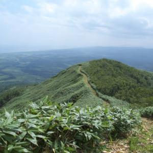 写万部山登山 2009年8月 3