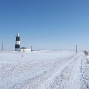 流氷の能取岬 2011年2月 2