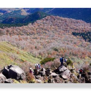 (11-01)  山紅葉の終わりに烏ヶ山へ