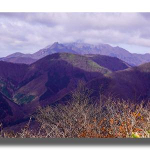 (11-2) 晩秋の上蒜山を登る