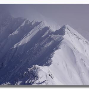 (12-1) 雪の大山夏山登山道