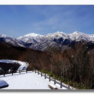 (2-2) 地蔵峠からの東大山雪景色