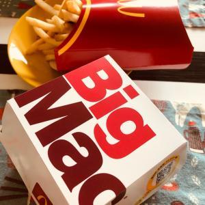 お昼の牛肉、Big Mac ♪