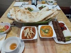 8月29日 まるで異国、イラン料理の店に行ってきた