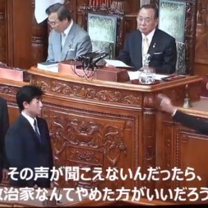 山本太郎は、この声が聞こえないんだったら、  政治家なんてやめた方がいいよ。