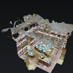 VR exhibition at DAIKANYAMA TSUTAYA BOOKS