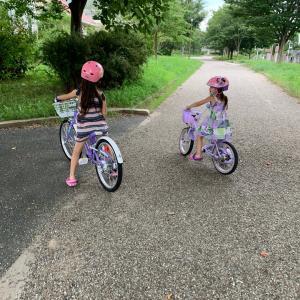 我が家の自転車の早期習得法