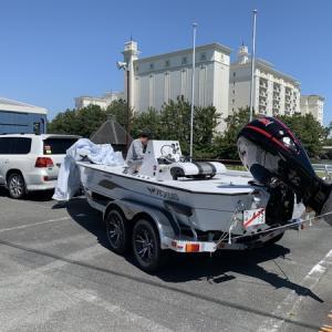 日本初上陸ボート