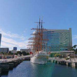 帆船日本丸等(横浜市 みなとみらい)の見学はとてもオススメ!