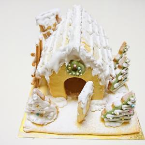 お菓子教室日記 クリスマスクッキーハウスレッスン