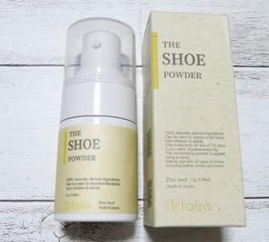 100%天然由来成分の靴用消臭パウダー♪fafra シューパウダー