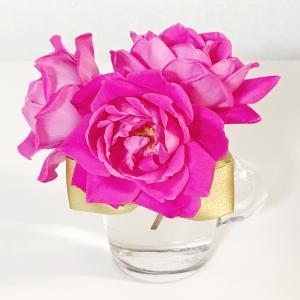 これからもおうちでバラを楽しみます♪ピンク ダブル ノック アウト 6号京成オリジナル鉢