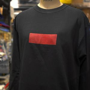 Red Bar Long Sleeve Tee