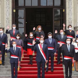 ペルー政治危機、3週間で2度目の新内閣(8月8日)