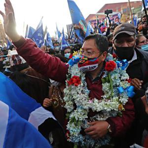 ボリビア大統領選挙、左派候補が世論調査でリード(9月13日)