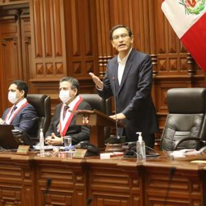 ペルー議会、大統領への罷免要求を否決する(9月20日)