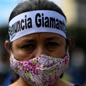 グアテマラ議会、2021年予算案を無効にする(11月26日)
