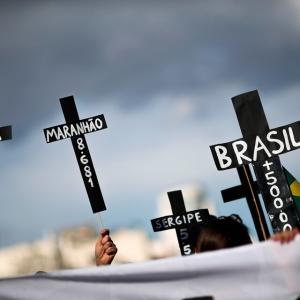 ブラジル:コロナウィルスの死者50万人を超える、大統領退陣の大規模デモ(6月19日)