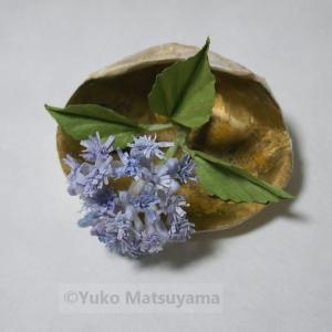 貝合わせ 小紫陽花