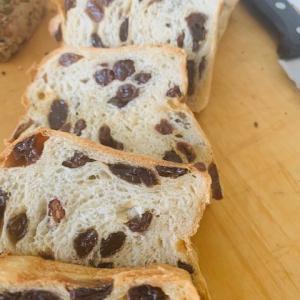 グルテンフリーブレッド、100%ぶどうパン、