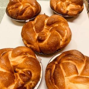 今日のお菓子とパンたち