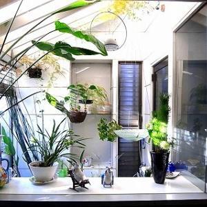 温室のある暮らし