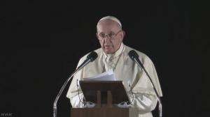 ローマ教皇の広島スピーチ