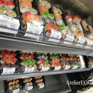 スーパーに総菜として寿司が登場!