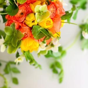 春のお花で癒される