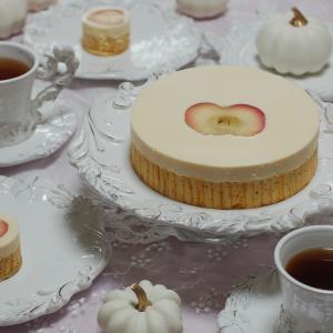 きゃらめるりんごのケーキ