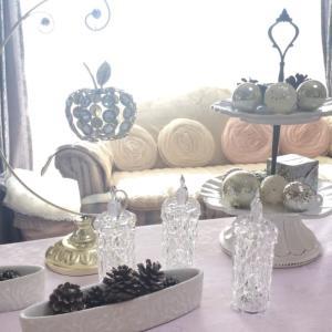 クリスマスのテーブルウエア