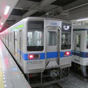 東武10030系 東武野田線六実行き