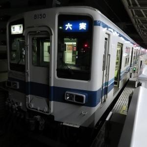 東武8000系 東武野田線普通六実行き