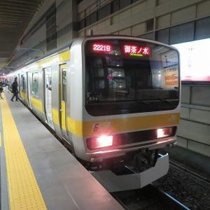 JR東日本E231系 総武本線各駅停車御茶ノ水行き