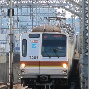 東京メトロ7000系(8両) 東急東横線各停新宿三丁目行き