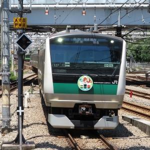 JR東日本E233系7000番台(川越線80周年) 埼京線各駅停車海老名行き