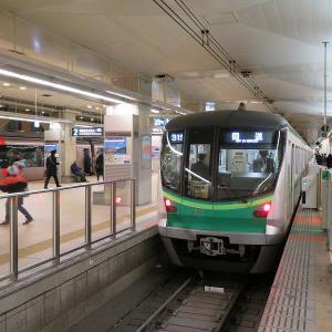 東京メトロ16000系(4次車) IN 小田急新宿駅