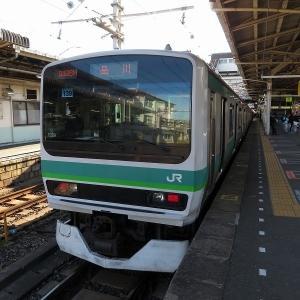 JR東日本E231系 上野東京ライン品川行き