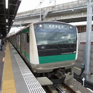 JR東日本E233系7000番台(東京2020) 相鉄本線各停海老名行き