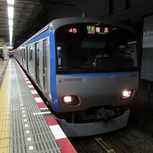 相鉄10000系(10両) 相鉄本線快速横浜行き