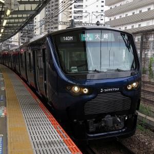 相鉄12000系 JR東日本埼京線各駅停車大崎行き