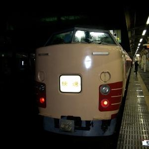 JR東日本183・189系 東海道本線快速「ムーンライトながら91号」大垣行き