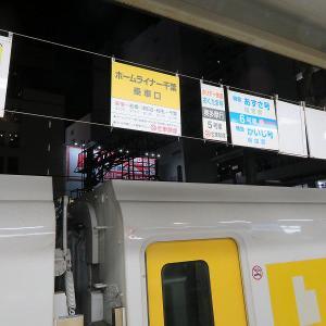 JR東日本E257系500番台 「ホームライナー千葉5号」千葉行き