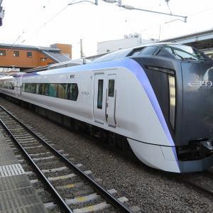 JR東日本E353系 中央本線特急「スーパーあずさ1号」松本行き