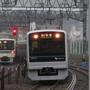 小田急3000形(10両固定) 小田急小田原線急行新宿行き