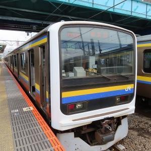 JR東日本209系2100番台 JR東日本鹿島線鹿島神宮行き