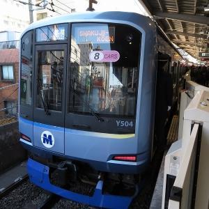 横浜高速鉄道Y500系 東急東横線各停石神井公園行き